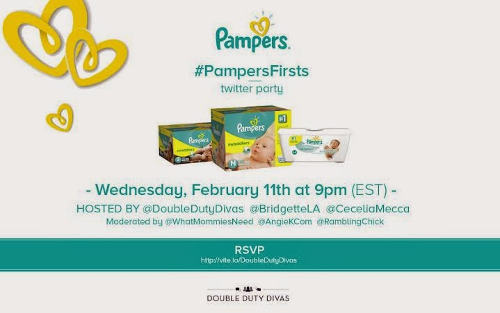 Pampers Twitter Party
