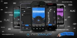 Aplikasi Musik Android NRG Music Player