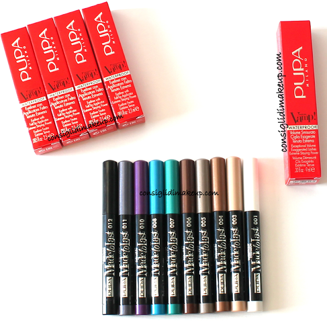 Review & Swatches Collezione Waterproof e Promo #‎PUPA4SUMMER - Pupa Milano