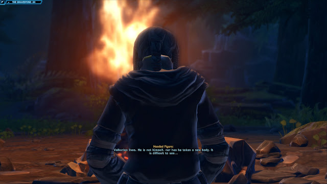 star wars the old republic, Knights of the Fallen Empire, Chapter V From The Grave satele shan camp fire