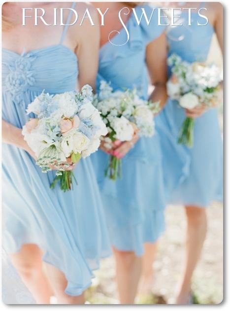 tärnbuketter, sommarbröllop, brudbukett blå