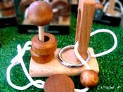Ξύλινες σπαζοκεφαλιές & σκάκι