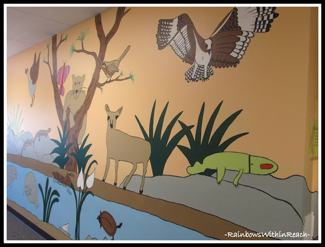 Florida Wildlife Habitat Student Mural