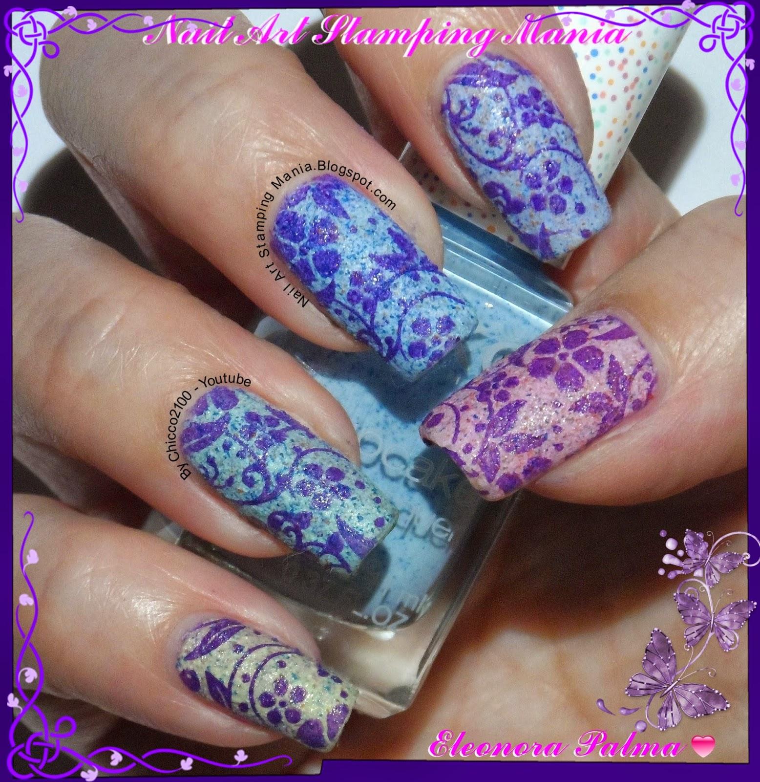 Nail art stamping mania kiko cupcake nail lacquers with pueen plate kiko cupcake nail lacquers with pueen plate prinsesfo Choice Image