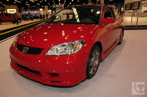 Honda Civic Hfp Coupe Front