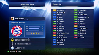 PES 2015 OPTION FILE UPDATE TRANSFER #20.08.2015 PTE 8.3 BY AS_77Mods