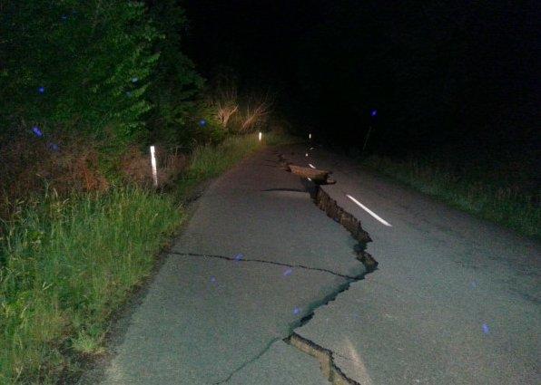 7.9 tremblement de terre frappe la Nouvelle-Zélande, le 13 novembre 2016, une alerte tsunami