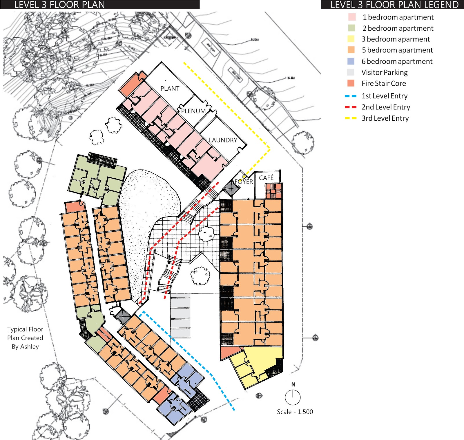 Exemplar Analysis Campus Living Village Kelvin Grove