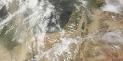 الأرصاد الروسية والألمانية – الشتاء القادم قد يكون أقسى شتاء منذ 100 عام  - العواصف الثلجية الخرائط الجغرافية خريطة عاصفة