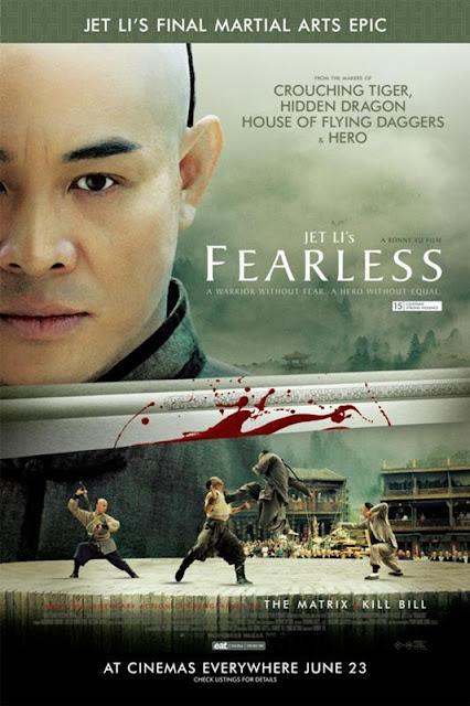 ดูหนัง HD ออนไลน์ Fearless(2006): จอมคนผงาดโลก Master DVD Bluray พากย์ไทย
