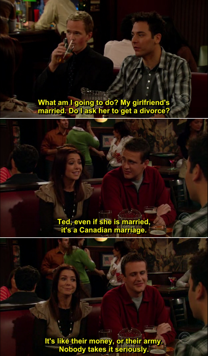 How I Met Your Mother Quote-11