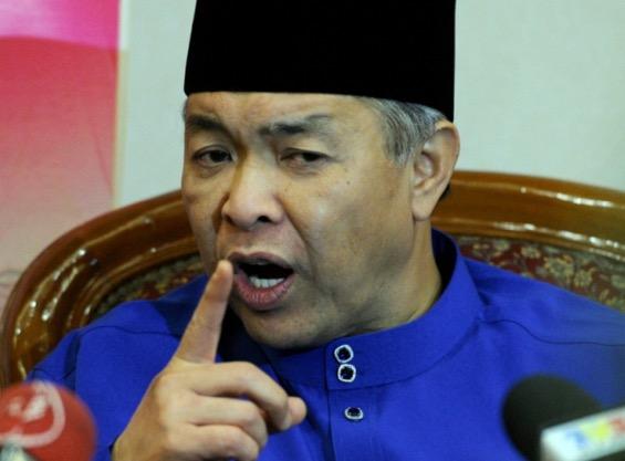 Luahan Zahid Hamidi dikatakan kuat kipas kuat tolong PM