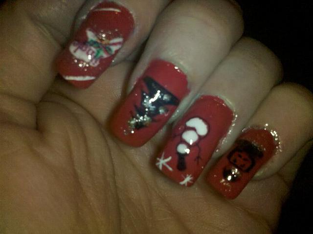 Christmas Nail Art Designs -14