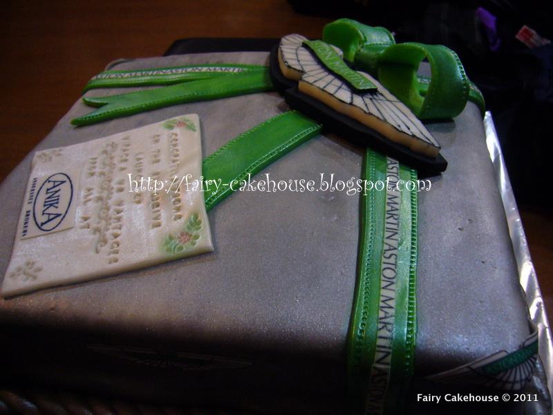 Fairy Cakehouse Aston Martin Cake