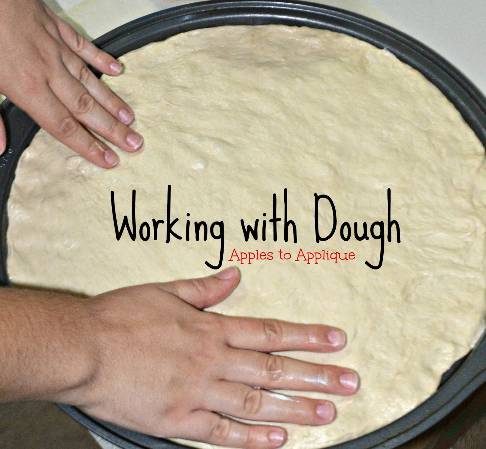 A Quick Tip for Working with Dough | Apples to Applique #cooking #baking #cookingtips