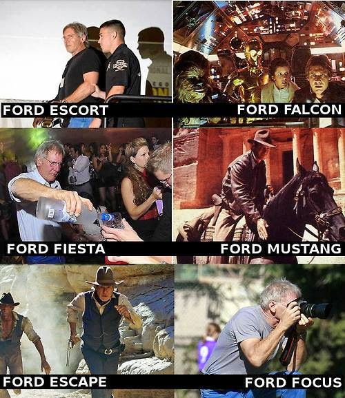 Harrison ford carros cars