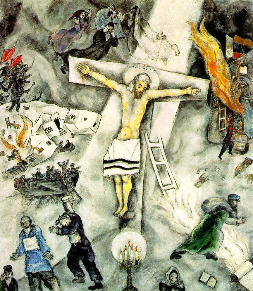 Chagall: White Crucifixion