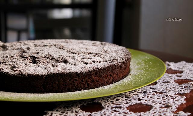 torta alla cannella e al cacao
