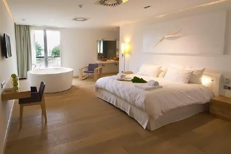 Dormitorio en el Arantza Hotela