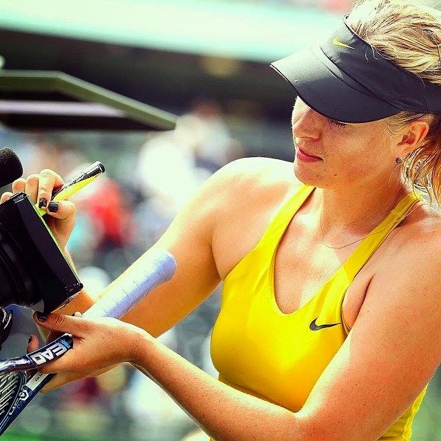 Maria Sharapova In Sony Open 2014