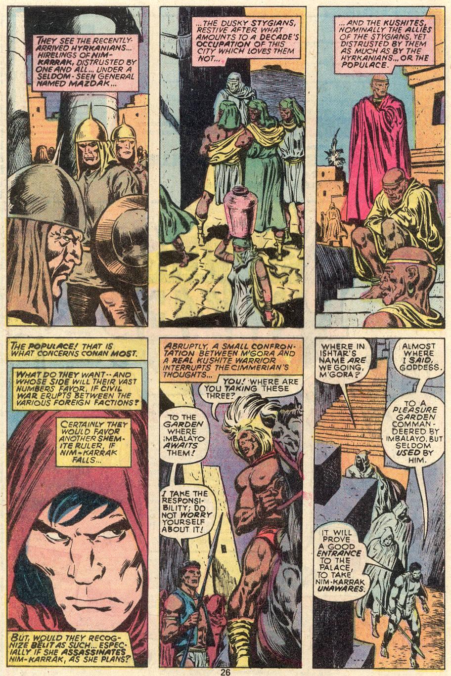 Conan the Barbarian (1970) Issue #91 #103 - English 15
