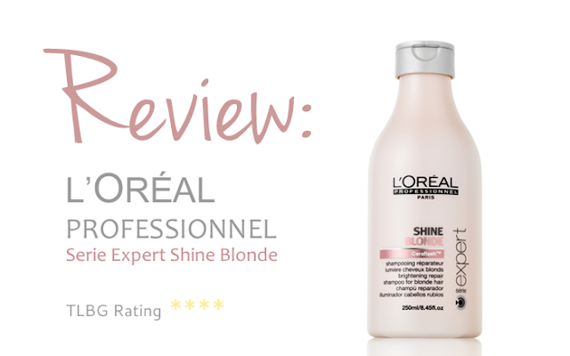 Review: L'Oreal Professionnel Serie Expert Shine Blonde