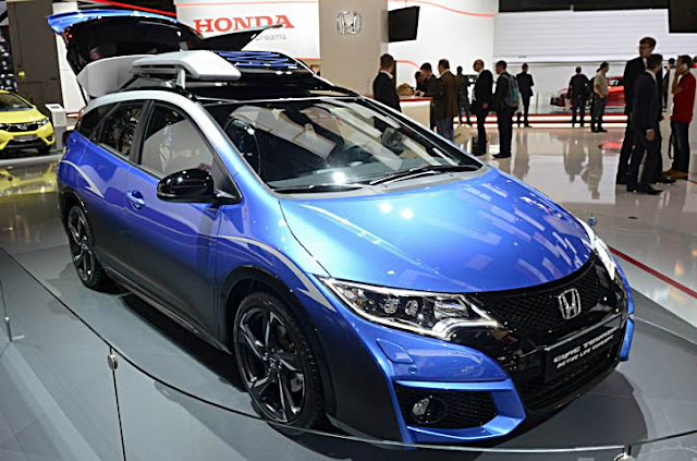 2016 Honda Civic Tourer Active Life Concept