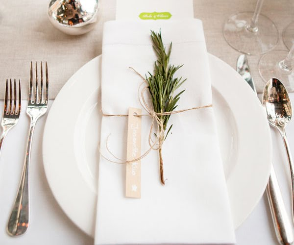 Simple table setting for Simple table setting