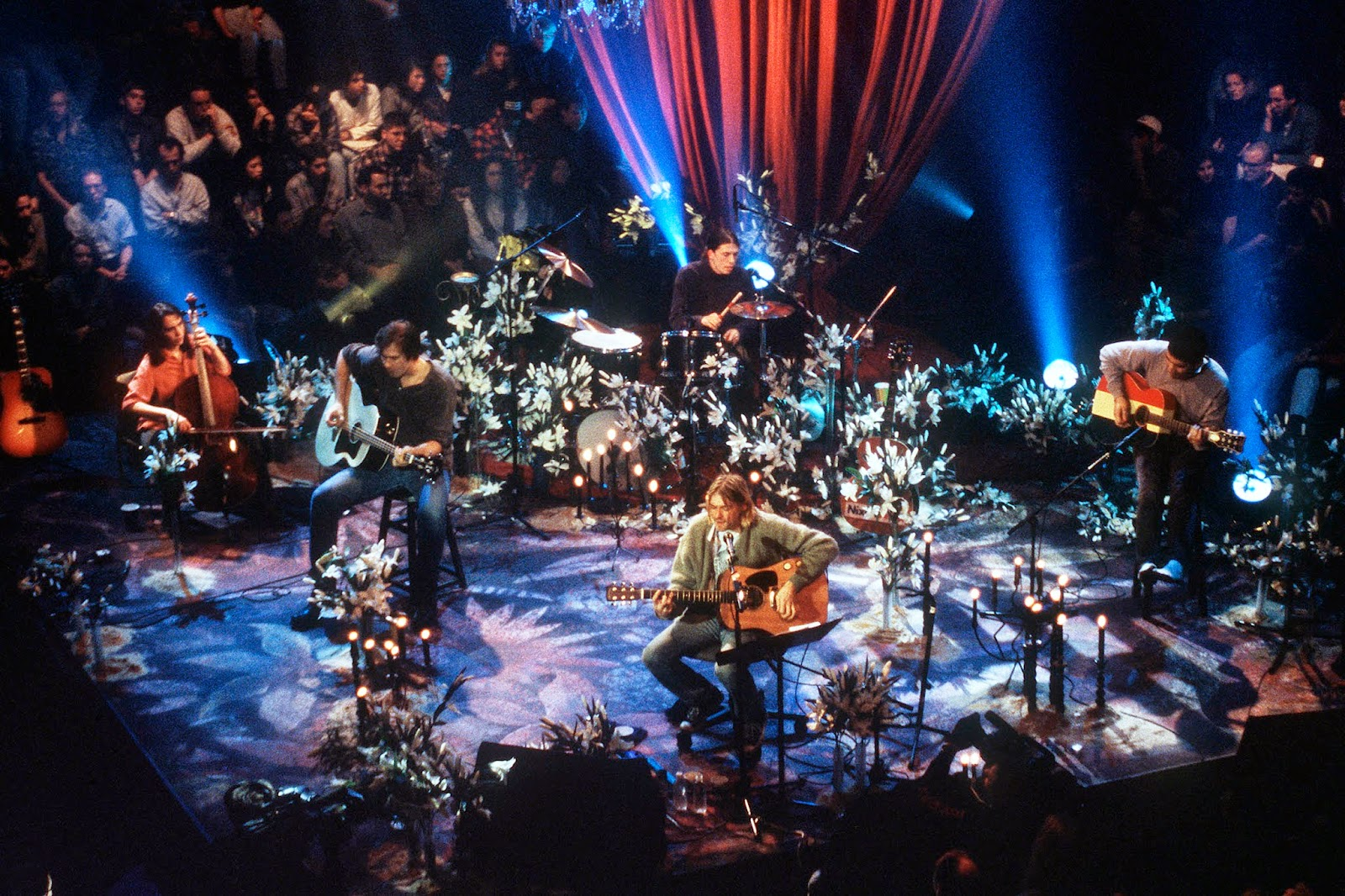 Nirvana Unplugged Wallpaper Nirvana Mtv Unplugged