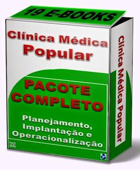 E-books para implantação de Clínica Médica Popular