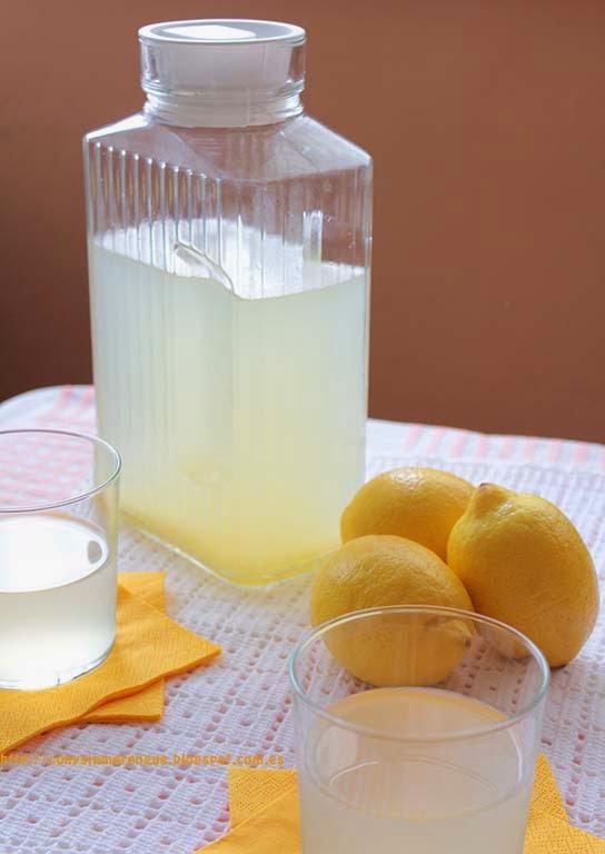 Limonada con jengibre CyS