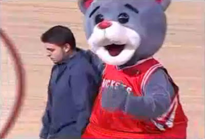 mascota houston rockets