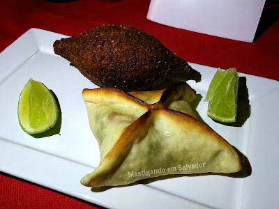 Babaganuche Cozinha Árabe: Kibe Frito e Esfiha de Espinafre