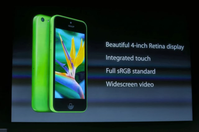 iPhone 5C Specification and Detail