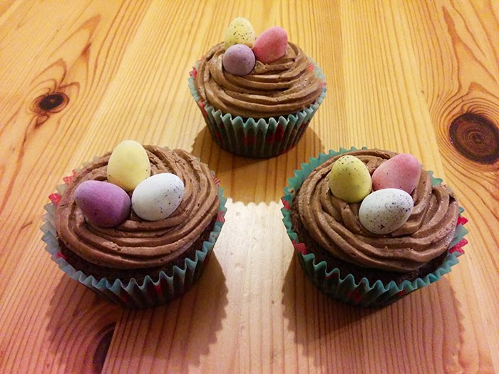 Easter Cupcakes Chocolate mini eggs Recipe