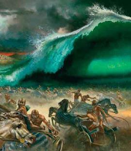 O Senhor Lançou no Mar os carros de Faraó e seu Exército