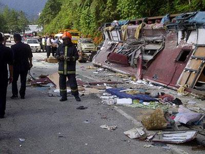 pix gal4 kemalangan bas di genting highlands 5/3/2012