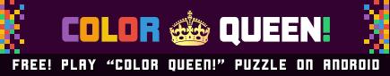 Color Queen Flood Puzzle