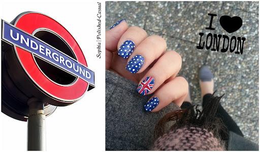 Easy UK Union Jack Nails with essie mezmerised