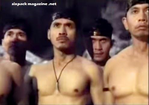 Dji Sam Soe muscle shirtless
