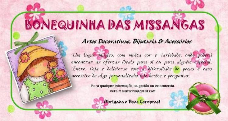 Bonequinha das Missangas
