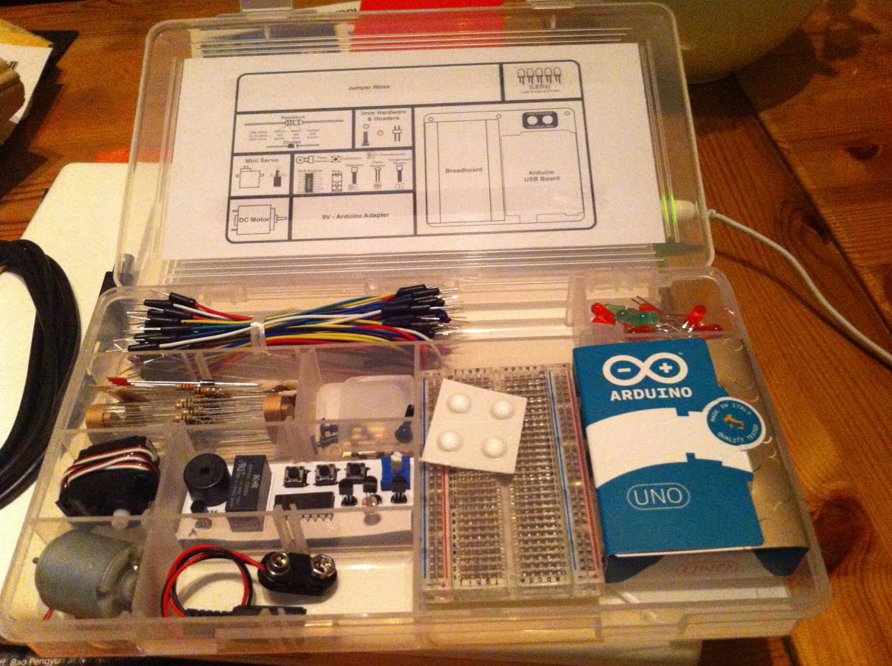 Connecting the real world to r with an arduino