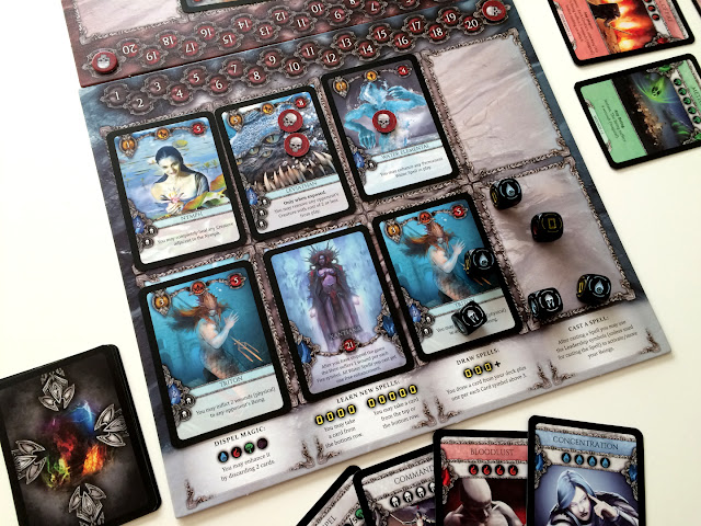Heroes board game water faction