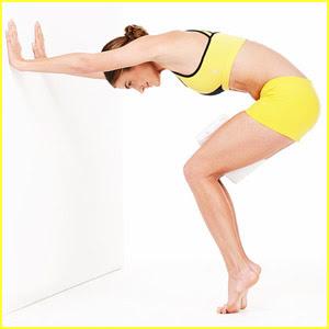 гимнастика за стягане - Приклякане с пружиниране