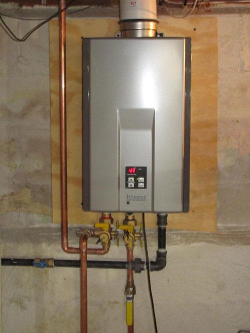 Rinnai Tankless Water Heater