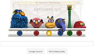 Google Doodle Jim Henson's 75th Birthday Pictures Logo,Biography