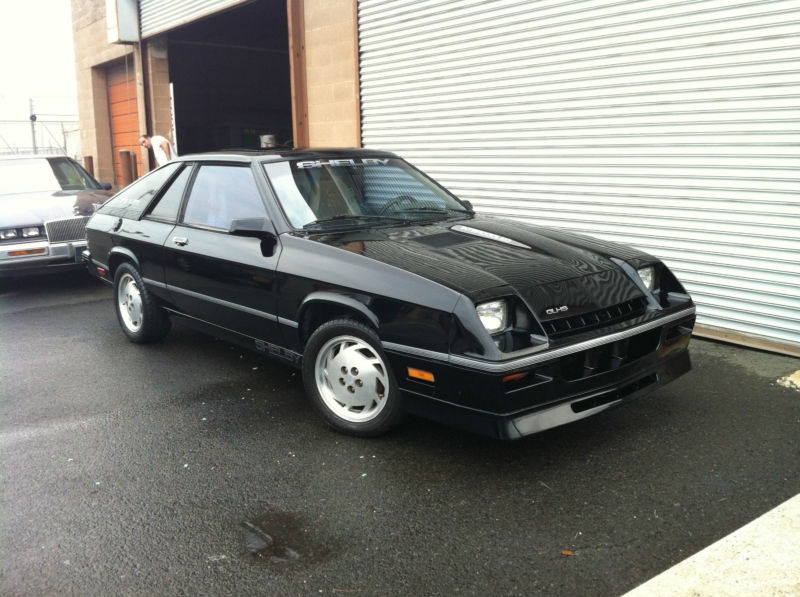 Daily Turismo: 5k: 1987 Dodge Shelby Charger GLH-S Turbo