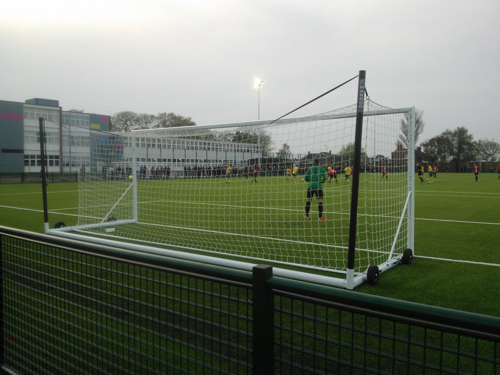 The 100 Football Grounds Club 525 Stockton Town S New 3g Ground