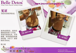 belle detox unique effect on healthcare and lose weight
