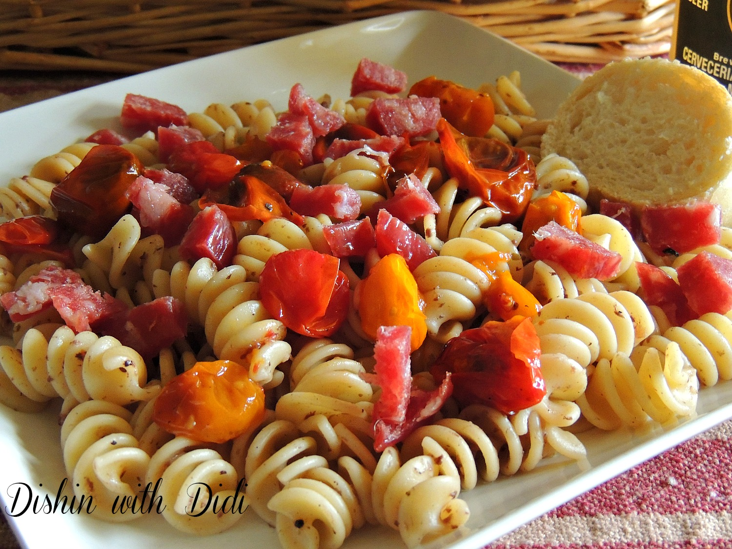 olive and tomato pasta salad pasta salad with roasted asparagus string ...